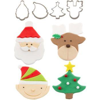Autumn Carpenter CuttersCutie Cupcake Cutter Set - Christmas Minimum order 4 units at £2.39 Per Unit.
