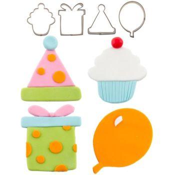 Autumn Carpenter Cutters Cutie Cupcake Cutter Set - Birthday Minimum order 4 units at £2.39 Per Unit.