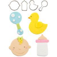 Autumn Carpenter Cutters Baby Cutie Cutters, Set of 4, Minimum order 4 units at £2.39 Per Unit.