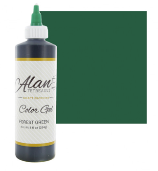 Global Sugar Art  Forest Green Premium Food Color Gel, 10-1/2 Ounces (8 Fl. Oz)  by Chef Alan Tetreault