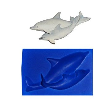 First Impressions Molds Dolphin Pair 2