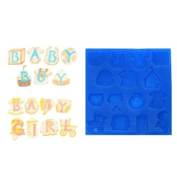 First Impressions Molds Baby Letters