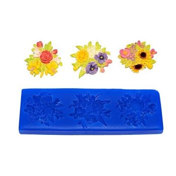 First Impressions Molds Flower Medallions 1