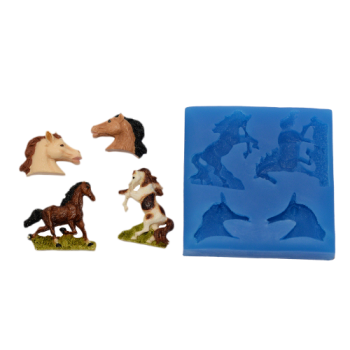 First Impressions Molds Horse Set