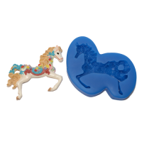 First Impressions Molds Floral Fantasy Horse
