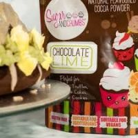 Sugar and Crumbs 250g Chocolate Lime Natural Flavoured Cocoa Powder Gluten Free