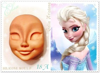 Galia Elsa Face food-grade Silicon Mould