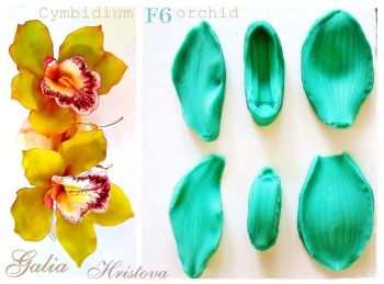 Galia Cymbidium Orchid food-grade Silicon Mould