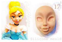 Galia Cinderella Face food-grade Silicon Mould