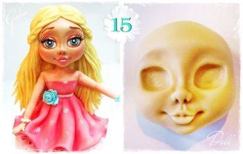 Galia Doll Face food-grade Silicon Mould
