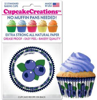 Cupcakes Creations Blueberry: 32 Pieces per unit at £2.08 per unit. 12 units per carton.