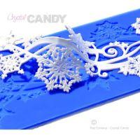 Crystal Candy Snowflake Swirls