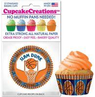 Cupcakes Creations Basketball Cupcake: 32 Pieces per unit at £2.08 per unit. 12 units per carton.