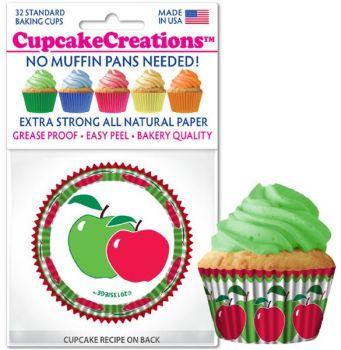 Cupcakes Creations Apple: 32 Pieces per unit at £2.08 per unit. 12 units per carton.