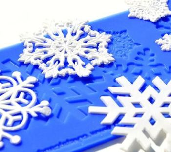 Crystal Candy Snowflakes