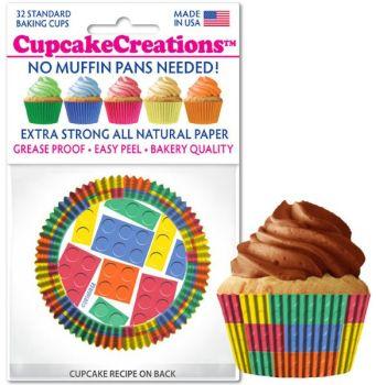 Cupcakes Creations Building Blocks: 32 Pieces per unit at £2.08 per unit. 12 units per carton.