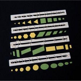 FMM Sugarcraft Essential Shapes Tappits,