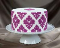 Marvelous Molds Damask Pattern 01 Silicone Onlay®