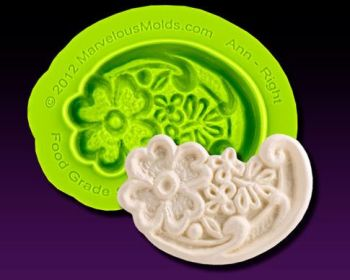 Marvelous Molds Ann Right Lace Mold