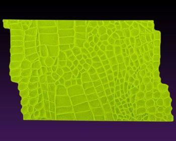 Marvelous Molds Alligator Mat