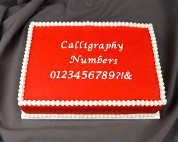 Marvelous Molds Calligraphy Numbers Flexabet™