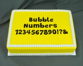 Marvelous Molds Bubble Numbers Flexabet™