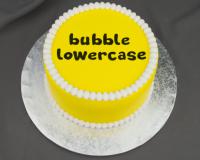 Marvelous Molds Bubble Letters Lowercase Flexabet™
