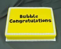 Marvelous Molds Bubble Letters Congratulations Flexabet™