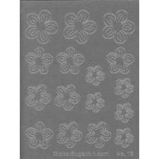 Global Sugar Art: Alan Tetreault Crystal Flowers Blossom Gelatin Veining Sheet by Chef Alan Tetreault