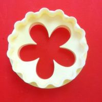 FMM Sugarcraft Double Sided Cup Cake Cutter Blossom,
