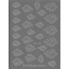 Global Sugar Art: Alan Tetreault Crystal Flowers Fantasy Leaf Gelatin Veining Sheet by Chef Alan Tetreault