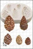 FPC Sugarcraft Pine Cones Silicon Mould