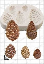 FPC Sugarcraft Pine Cones Silicon Mould