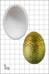 FPC Sugarcraft Dragon Eggs Large Silicon Moulds