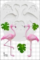 FPC Sugarcraft Flamingos Silicon Mould