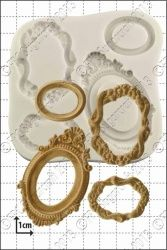 FPC Sugarcraft Oval Frames Silicon Mould