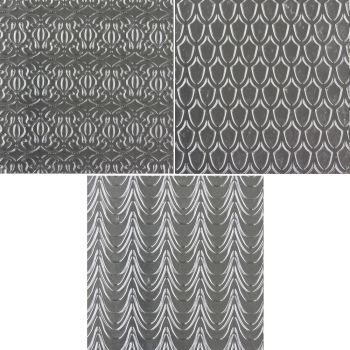 Sweet Elite Tools Fanciful Pattern Texture Sheet Set: Minimum Order 3 units. £3.69 Per unit