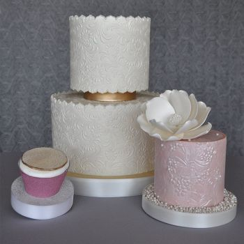 Sweet Elite Tools Floral Pattern Texture Sheet Set: Minimum Order 3 units. £3.69 Per unit