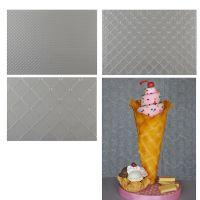 Sweet Elite Tools Waffle Pattern Texture Sheet Set: Minimum Order 3 units. £3.69 Per unit