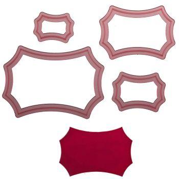 Sweet Elite Tools Isabella Frame Cutter Set: Minimum Order 3 units at £4.10 Per Unit.