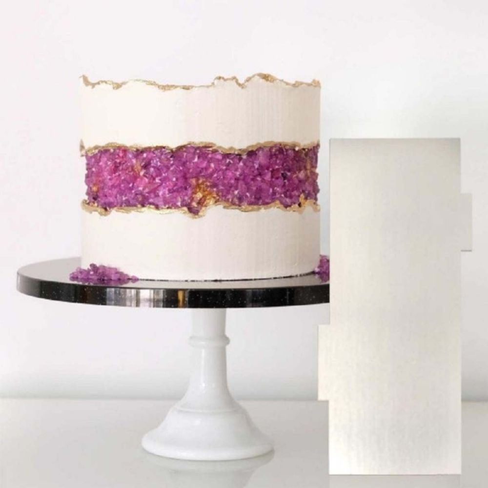 Evil Cake Genius: Centre Fill Faultline contour comb icing ganache smoother