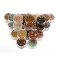 Faye Cahill: FULL SET all 26 x 10ml pots luxury edible lustre dust icing colours - BUNDLE