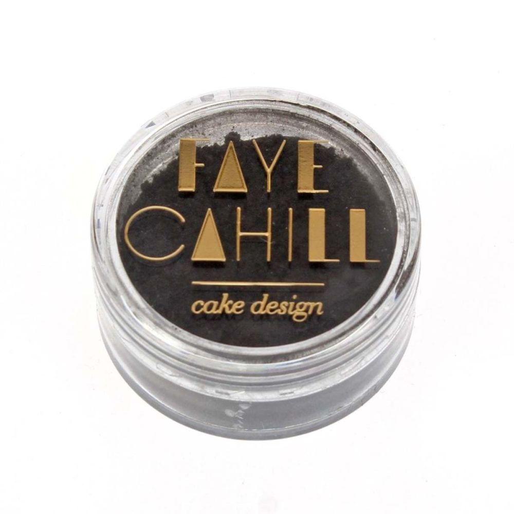 Faye Cahill: GRAPHITE BLACK 10ml luxury edible lustre dust icing colour