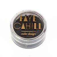 Faye Cahill: GRAPHITE BLACK 10ml luxury edible lustre dust icing colour