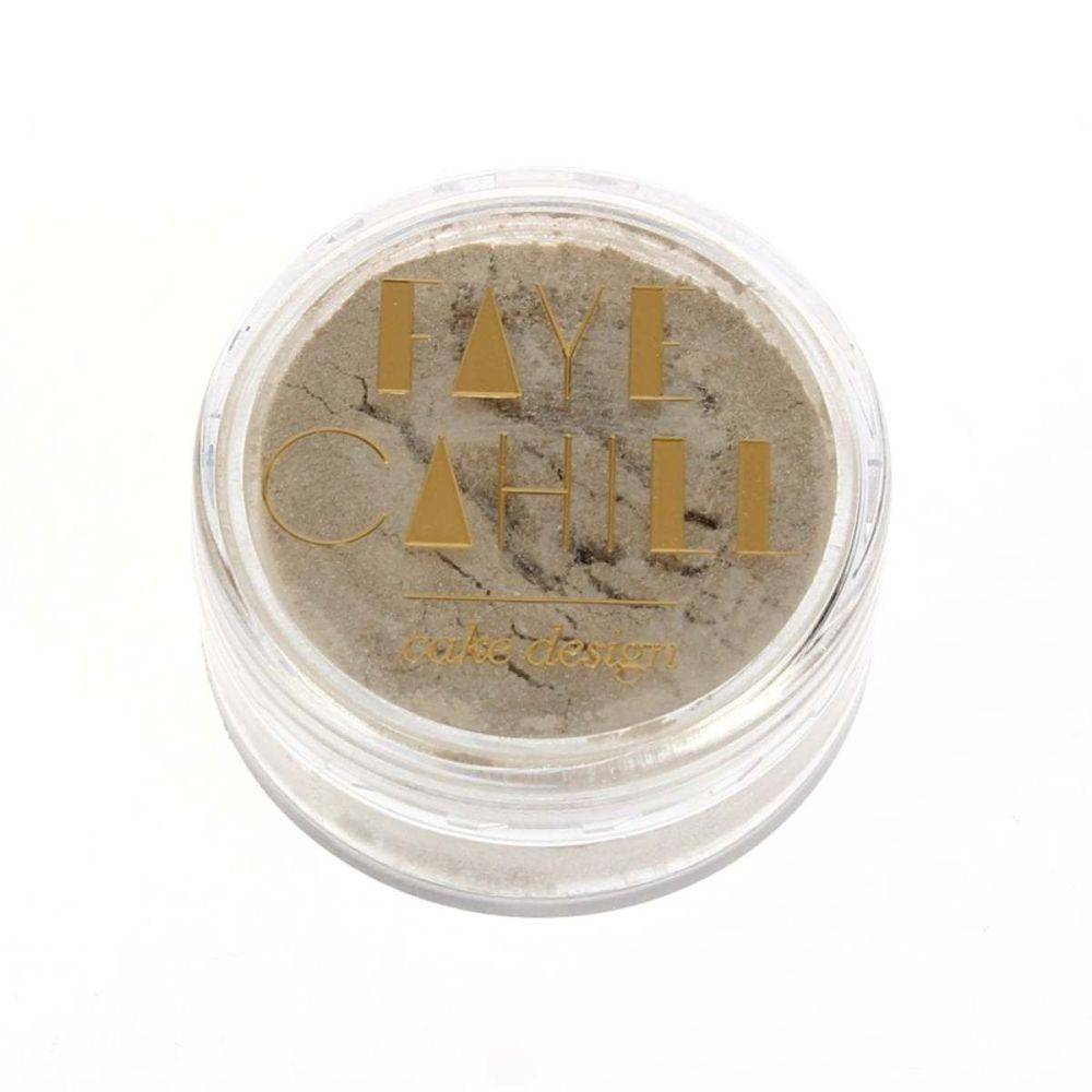 Faye Cahill MOCHA 10ml luxury edible lustre dust icing colour