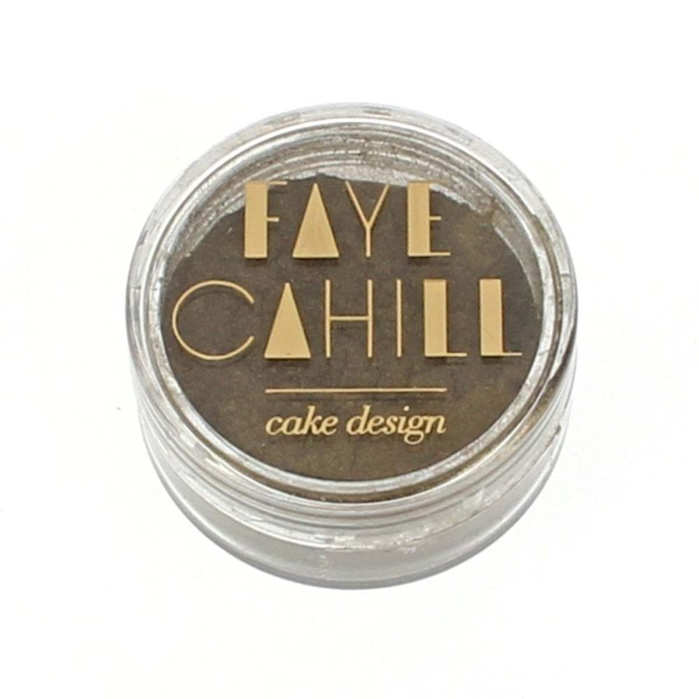 Faye Cahill: OLIVE LEAF GOLD 10ml luxury edible lustre dust icing colour