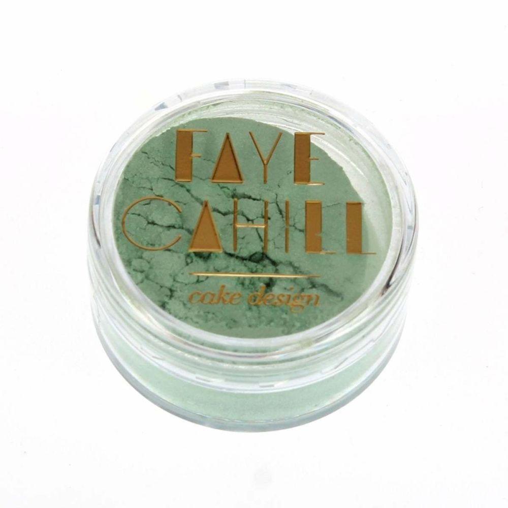 Faye Cahill: PISTACHIO GREEN 10ml luxury edible lustre dust icing colour