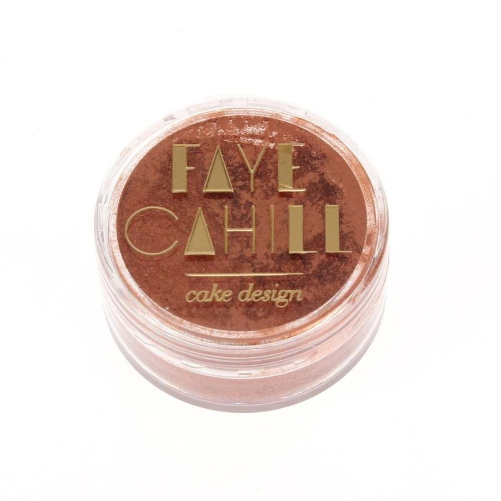 Faye Cahill: COPPER 10ml luxury edible lustre dust icing colour