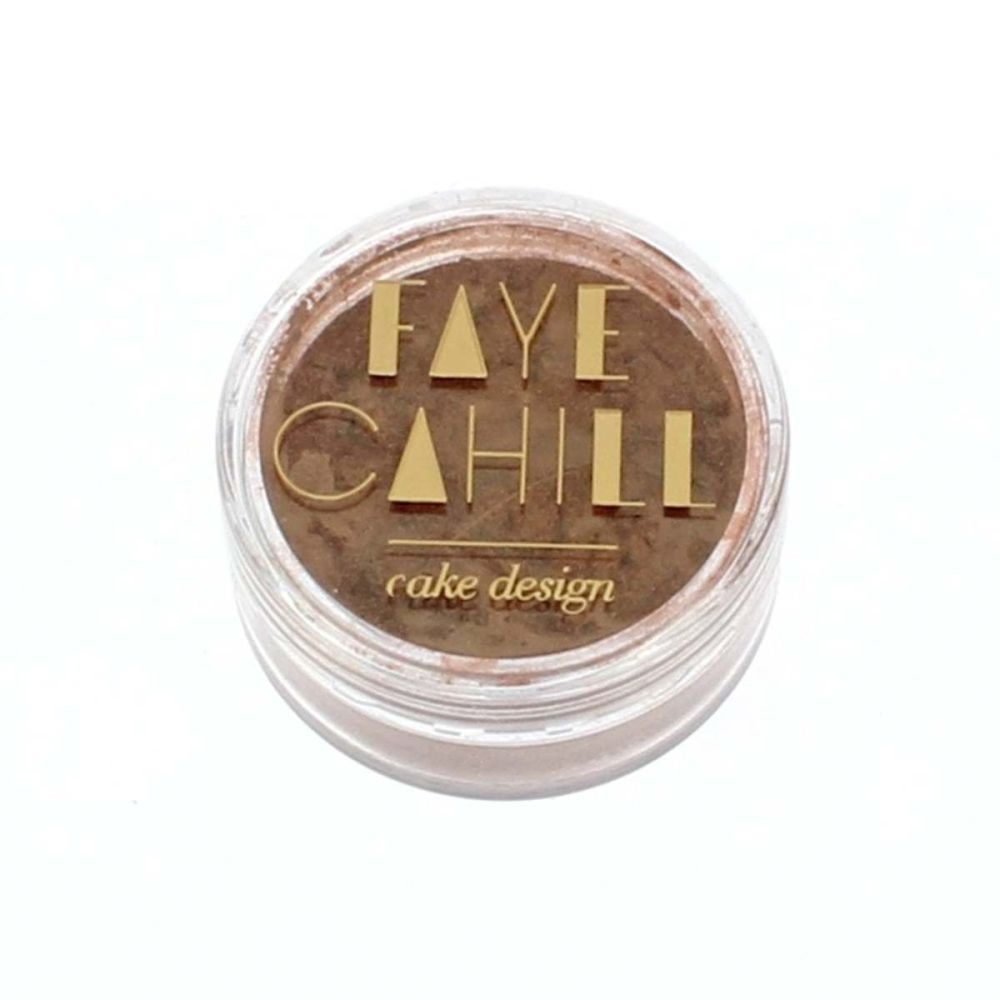 Faye Cahill: COOL BRONZE 10ml luxury edible lustre dust icing colour