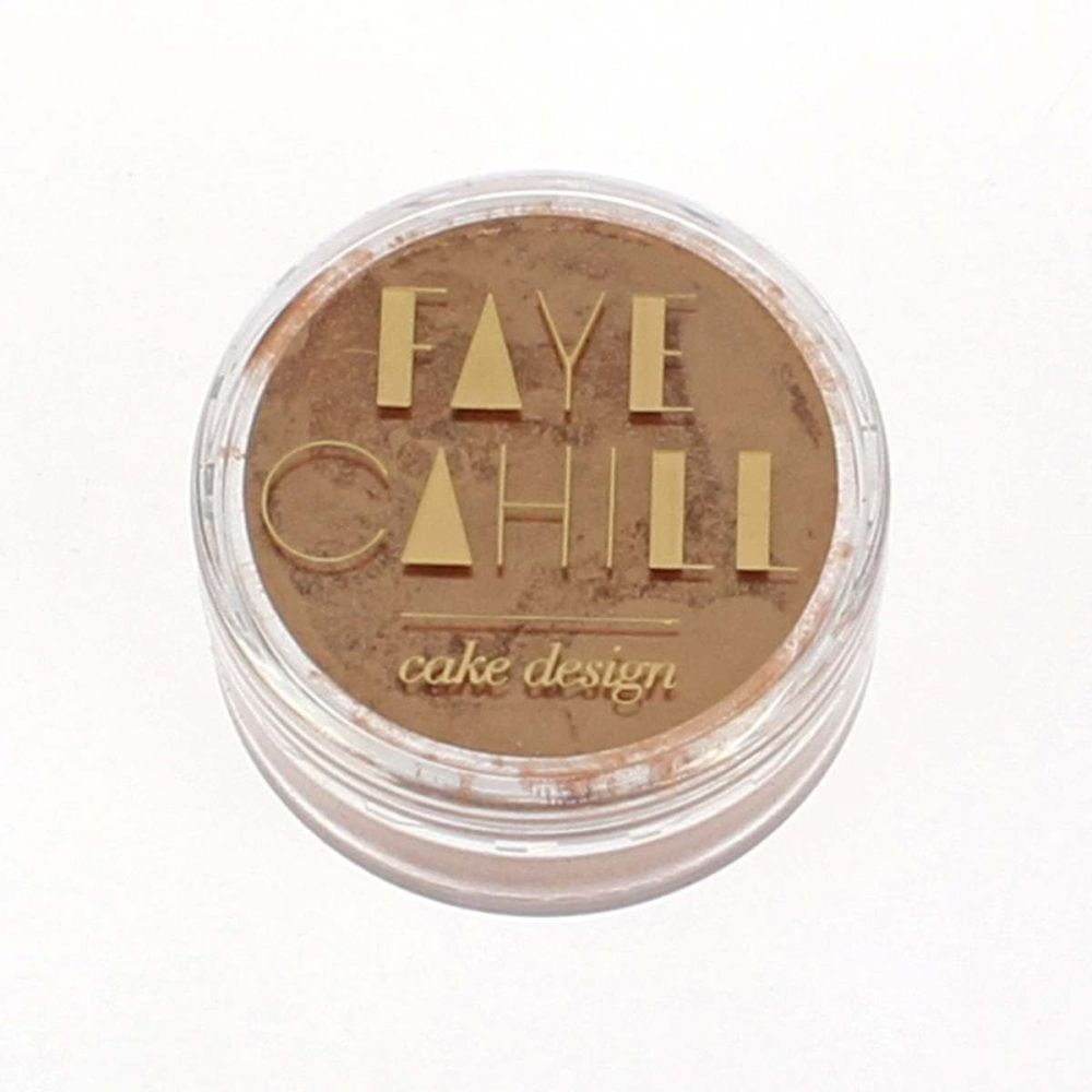 Faye Cahill: BRONZE 10ml luxury edible lustre dust icing colour